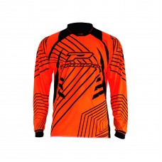 Progrip 7010-17 Adult Motocross Shirt Fluorescent-Orange